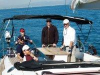 dia de mar con los amigos