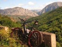 nuestra bici de montaña