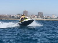 Costa Blanca ride in two-seater jet ski