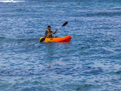 Alquiler de kayak individual en Caleta de Fuste