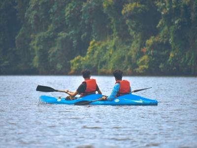 Alquiler de kayak doble en Caleta de Fuste
