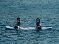 La tabla de wakeboard