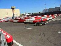 carrera con el kart