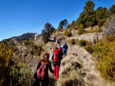 Guided hiking in the Sierra de Espadán. 4h
