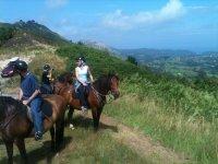 Rutas a caballo en despedidas de soltero