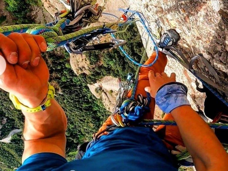 攀登飞拉达的设备