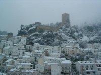 Paisajes nevados en Cazorla