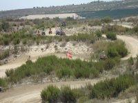 Ruta de quads en el campo