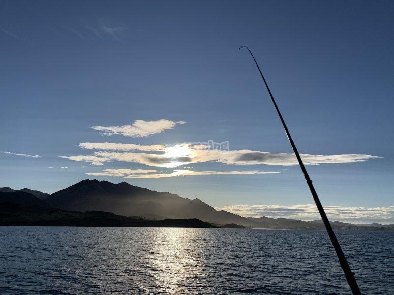 Pesca di fondo nelle Asturie