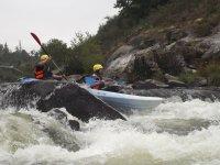 Rapidos rio Ulla