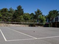 Pista para jugar al tenis