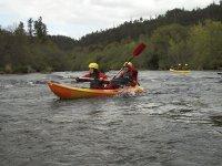 piraguismo en el rio deza