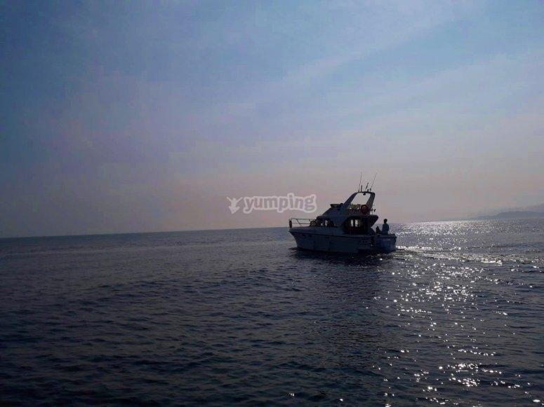 Paseo en barco Lastres