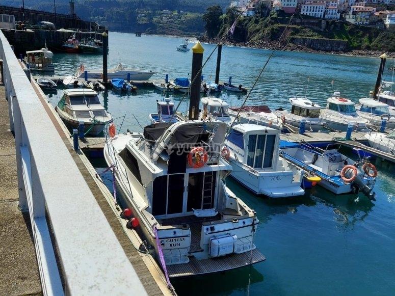 Paseo en yate Asturias