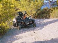 Ruta en buggy al atardecer por costa este Mallorca