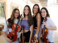 Alumnas del campamento de música