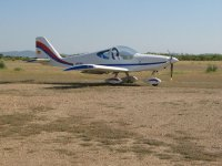 Volo in un pilota ultraleggero attraverso Cáceres