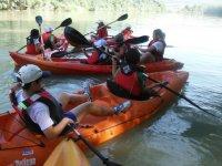 Atasco de canoas