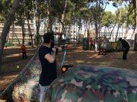 Duelo de archery tag en Salou