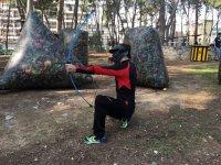 Soldado archery tag en Salou