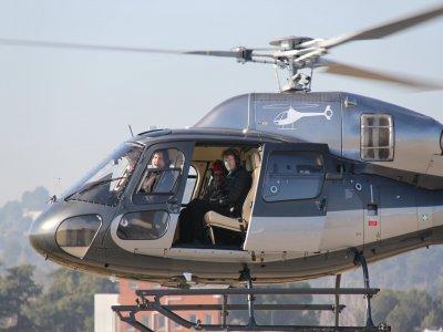 Vuelo en helicóptero por Barcelona ciudad 20 min