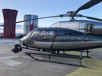Vuelo en helicóptero por ciudad de Barcelona 30min