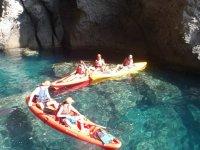 attività con il kayak