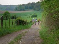 en ruta de bici