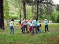 Actividades en el bosque