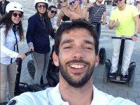 Selfie segway