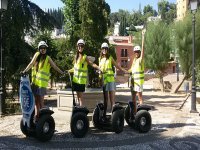 Sharing a day on a segway