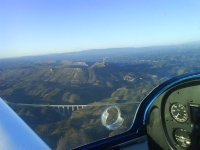 Volo in aereo con un monitor a Cáceres