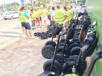 Guided tours on segway