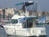 摩托艇在巴塞罗那