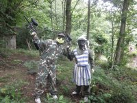 Paintball with costumes