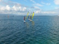 the best training in windsurfing