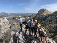 塞维利亚景观的攀登活动
