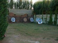dianas para practicar tiro con arco