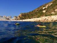 Snorkeling in the Mediterranean