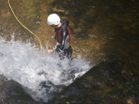 Descendiendo el cañón del río Hubo