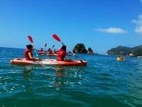 Kayak doble en Arrabida