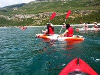 Salida en kayak desde Sesimbra
