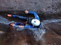在 El Palmar 峡谷漂流,并在 Teror 拍摄照片