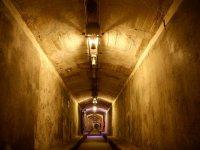 entramos en un bunker de la guerra civil