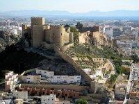 向阿尔梅里亚的alcazaba
