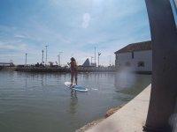 学习控制sup -999表 - 在泳池中学习划桨冲浪