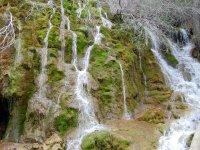 Cascadas en el Rio Cuervo