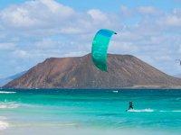 Excursión en kitesurf