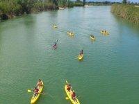 Ruta en kayak por el Ebro