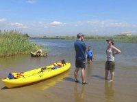 Listos para una ruta en kayak
